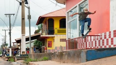 Street Skating the Wilds of Brazil | Cruising the Amazon: Part 2 - Red Bull