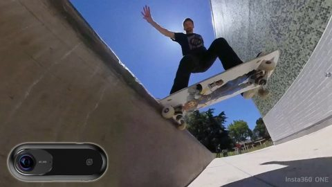 STREET SKATING WITH THE INSTA360 ONE | STREET MISSIONS EP.8 | Braille Skateboarding