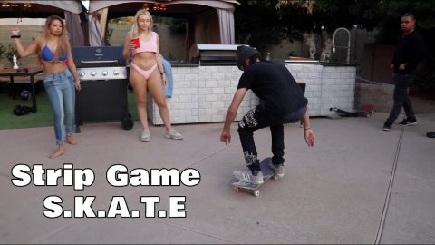 Strip Game of S.K.A.T.E 2 | Lamont Holt