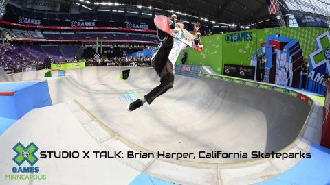 STUDIO X TALK: Brian Harper of California Skateparks | X Games Minneapolis 2019 | X Games