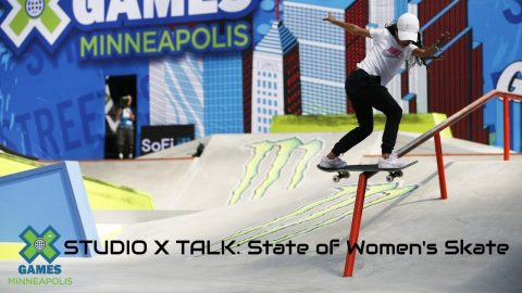 STUDIO X TALK: Women's Skateboarding | X Games Minneapolis 2019 | X Games