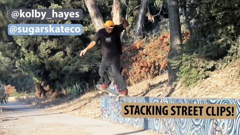 Sugar Skate Co. - Kolby Hayes Stacking Street Clips Before Vacation | Sugar Skate Co.