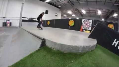 "Sugar Skateboards - 9-Year-Old Aubrey ""AJ"" Sayre at Active HQ Skatepark 
