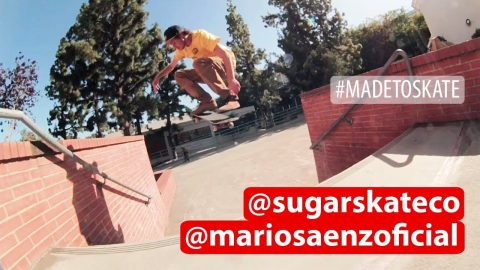 Sugar Skateboards - Mario Saenz is on Point! | Sugar Skate Co.