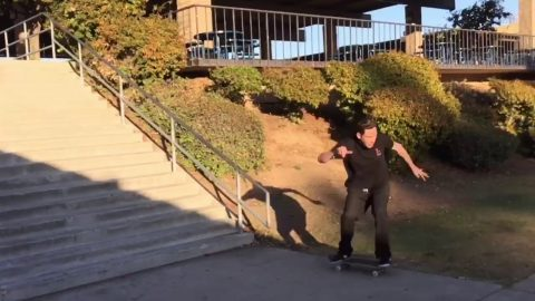 Sugar Skateboards - Zander Gabriel 2nd Try at El Toro 20-Star Rail - Marko Jazbinsek
