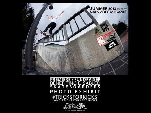 Summer 2013 by: Maps Video Mag #10C41 #SKATESUEDES - MAPS VIDEO