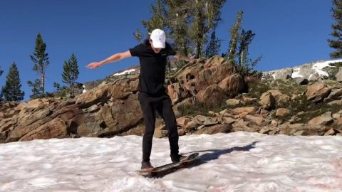 Summer SnowSkating, Waterfalls, Turns & Tan Lines with Spencer Nuzzi | ihatespencernuzzi