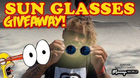 Sun Glasses Giveaway!?! - MannysWorld