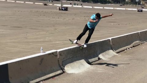 Sunday fun with Corey Duffel and Chris Larue skateboarding | Corey Duffel