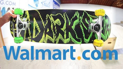 SUPER CHEAP WALMART.COM SKATEBOARD! - Braille Skateboarding