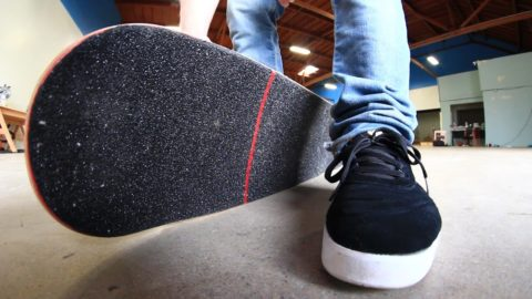 SUPER STICKY VICIOUS GRIP TAPE VS NEW SHOES - Braille Skateboarding