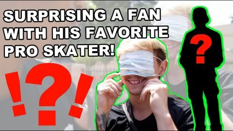 Surprising a Fan With His Favorite Pro Skater | Lamont Holt