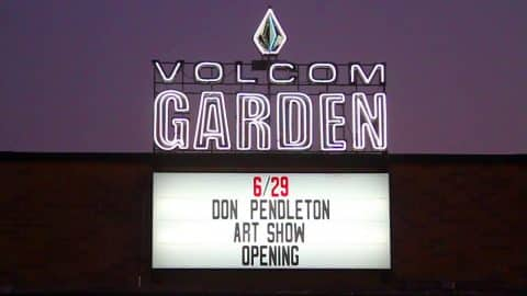 Sustained Harmony Opening at The Volcom Garden - Volcom