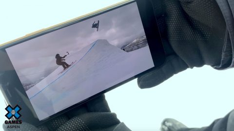 Sven Thorgren's The Real Cost Snowboard Big Air Perspective | X Games Aspen 2020 | X Games