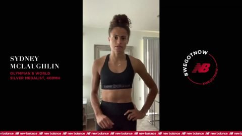 Sydney McLaughlin | #StayHome & Workout #WithMe | New Balance | newbalance
