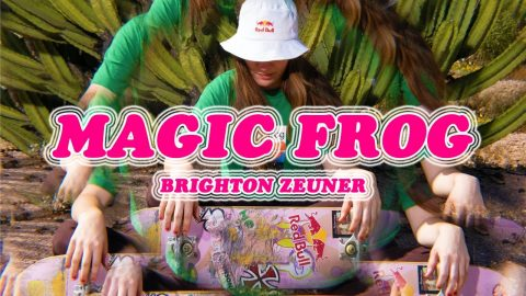 Take a Trip With Brighton Zeuner In Her MAGIC FROG Video Part | Red Bull Skateboarding
