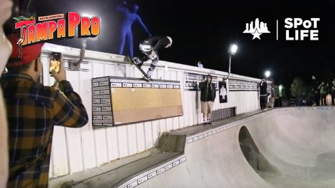 Tampa Pro 2020: Converse Concrete Jam – Clay Kreiner, Zion Wright, Andy Anderson – SPoT Life | Skatepark of Tampa