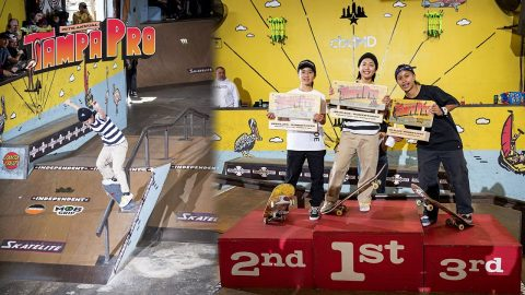 Tampa Pro 2020 Women's Open: Hina Maeda's Winning Run | Skatepark of Tampa