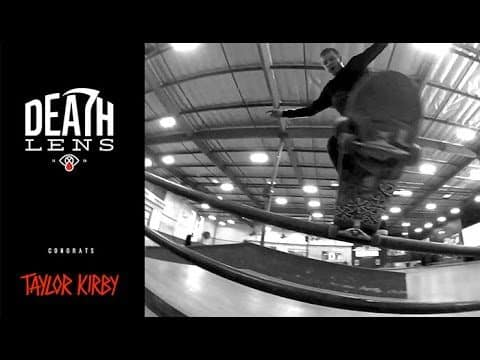 Taylor Kirby - Filmed with Deathlens - The Berrics