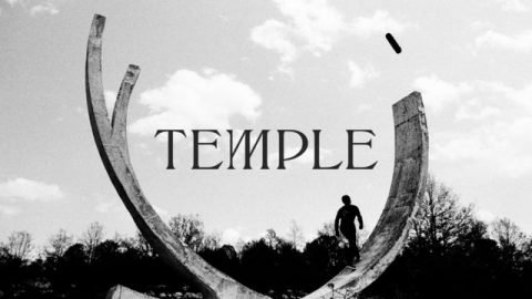 TEMPLE - A monochrome skateboarding quest | David & Douglas