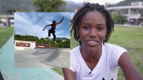 Thank You Jamaica - Kayla | Thank You Skateboards