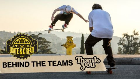 "Thank You Skateboards in ""HOA"" 