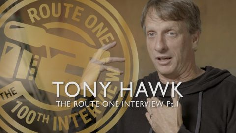 The 100th Route One Interview: Tony Hawk Pt.1 - RouteOneDirect