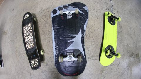 THE 3 WEIRDEST SKATEBOARDS IN THE WORLD - Braille Skateboarding
