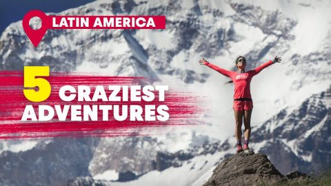 The 5 Wildest Adventures In Latin America | Red Bull Top 5 | Red Bull