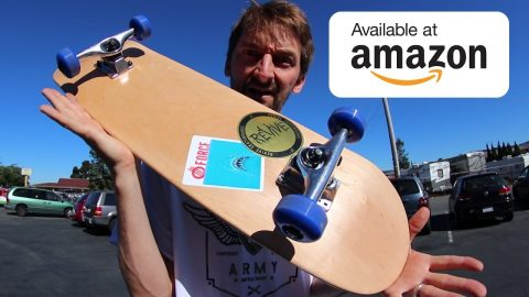 THE $60 AMAZON COMPLETE SKATEBOARD! | CHEAP SKATES EP 10 - Braille Skateboarding