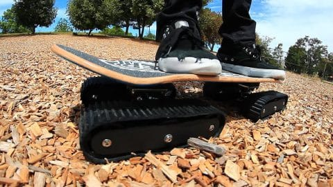 THE AMAZING ALL TERRAIN DESCENDER SKATEBOARD - Braille Skateboarding