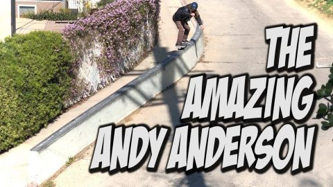 THE AMAZING ANDY ANDERSON STRIKES AGAIN !!! - NKA VIDS - - Nka Vids Skateboarding