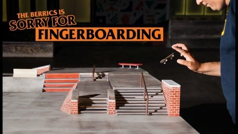 The Berrics Is Sorry (For Fingerboarding) | The Berrics