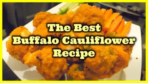 The Best Buffalo Cauliflower Recipe | Joey Brezinski