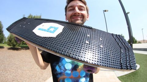 THE BEST LEGO BOARD EVER!!! | YOU MAKE IT WE SKATE IT EP. 217 | Braille Skateboarding