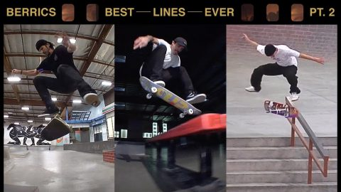 The Best Lines Ever Done At The Berrics | Pt. 2 | The Berrics