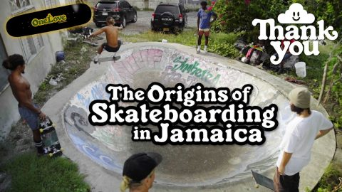 The Birth of Jamaican Skateboarding | Thank You Skateboards