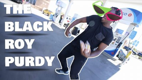 The Black Roy Purdy - LamontHoltTV