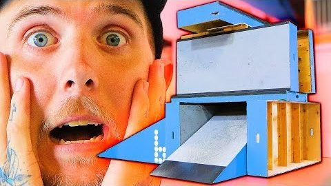 THE BRAILLEDROP BRIDGE OF DOOM! | Braille Skateboarding