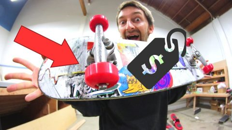 THE CHEAPEST SET OF WHEELS AND BEARINGS EVER? | CHEAP SKATES EP 12 - Braille Skateboarding
