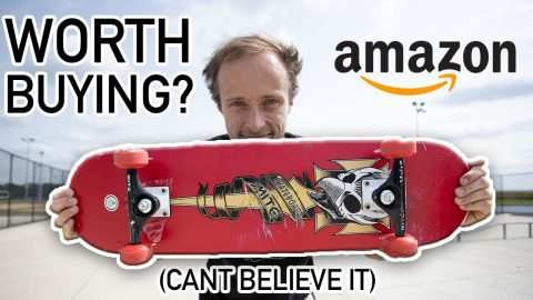 The Cheapest Skateboard on Amazon (Is it worth it?) | Max Williams