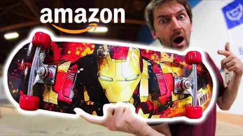 THE CHEAPEST SKATEBOARD ON AMAZON! | CHEAP SKATES EP 11 - Braille Skateboarding