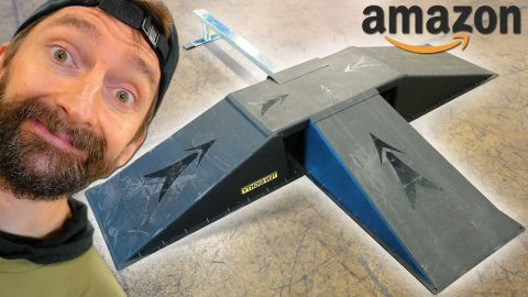 THE CHEAPEST SKATEPARK ON AMAZON! | Braille Skateboarding