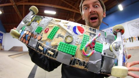 THE CRAZY EVERYDAY USE SKATEBOARD! | YOU MAKE IT WE SKATE IT EP 162 - Braille Skateboarding