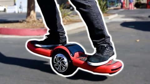 THE CRAZY FREESTYLE HOVERBOARD! - Braille Skateboarding