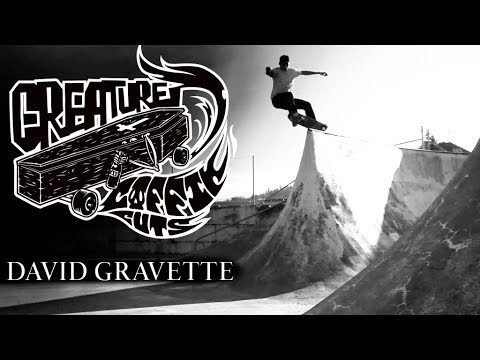 The Creature Video Coffin Cuts: David Gravette - Creature Skateboards