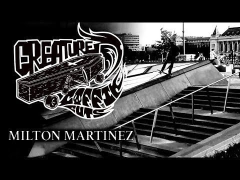 The Creature Video Coffin Cuts: Milton Martinez - Creature Skateboards