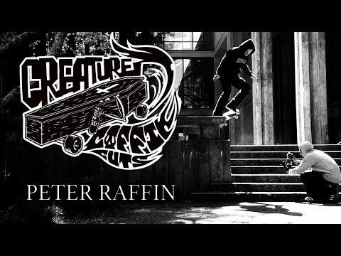 The Creature Video Coffin Cuts: Peter Raffin - Creature Skateboards