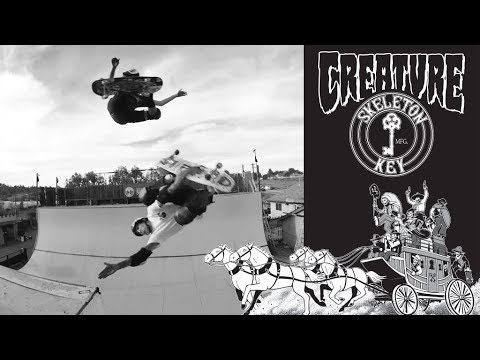 The Creature Video: Skeleton Key - Creature Skateboards