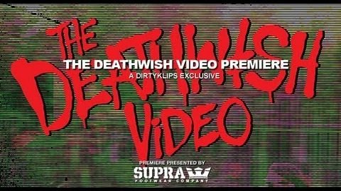 THE DEATHWISH VIDEO PREMIERE: A DIRTYKLIPS - DENNIS MARTIN